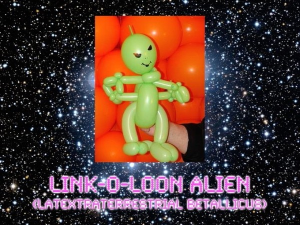 Link-O-Loon Alien Balloon Animal Sculpture by Jeff Hayes