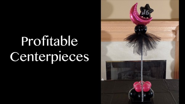 """Profitable Centerpieces"" with Anne McGovern, CBA - Balloon Decor Instructional Video"