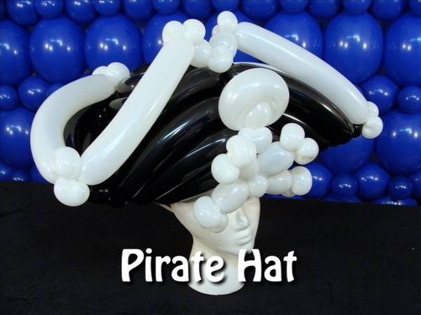 Pirate Style Balloon Hat Recipe by Steven Jones