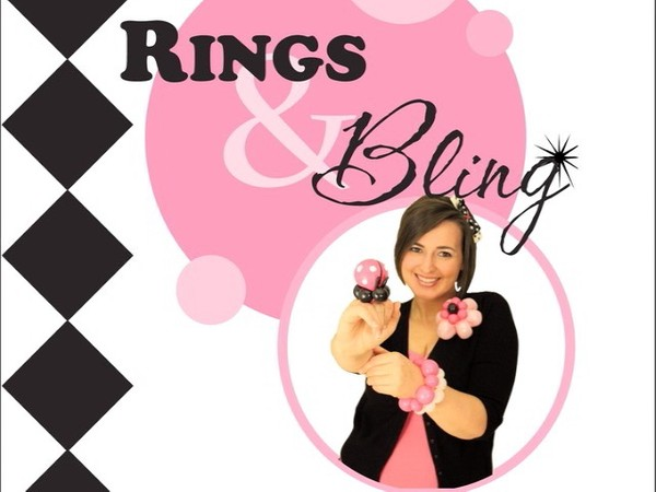 """Rings and Bling"" with Melissa Vinson, CBA - Balloon Twisting Instructional Video"