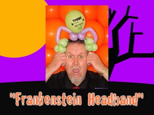 Frankenstein Headband Balloon Hat by Jeff Hayes
