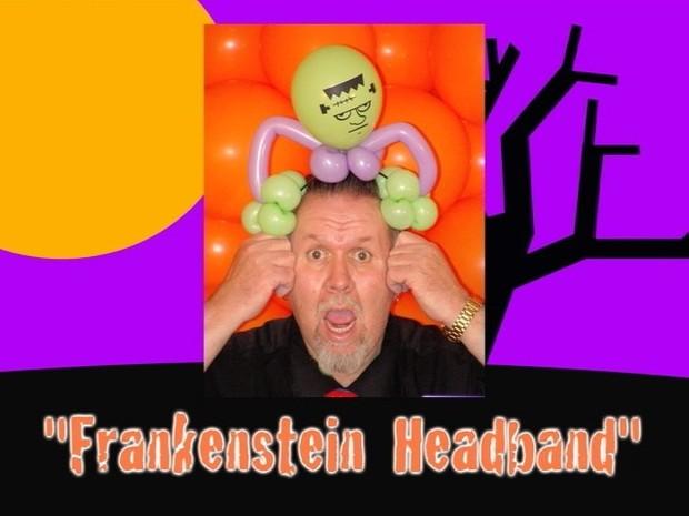 Frankenstein Headband Balloon Hat by Jeff Hayes