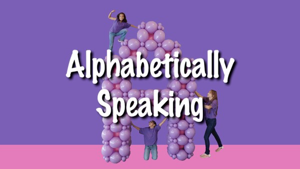 """Alphabetically Speaking"" with Steven Jones"