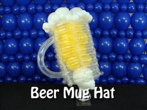 Beer Mug Balloon Hat Recipe by Steven Jones