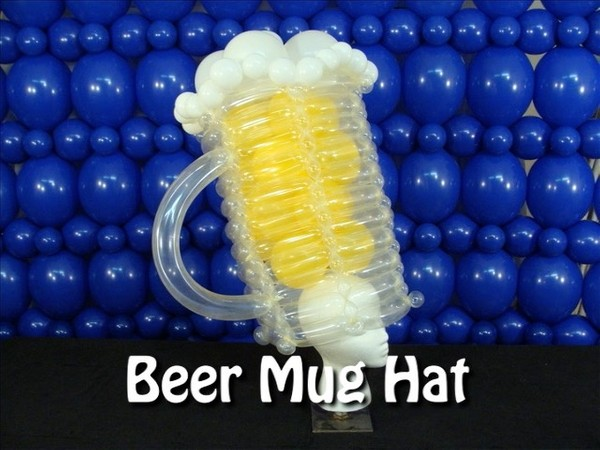 Beer Mug Balloon Hat Recipe by Steven Jones