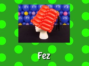 Fez Balloon Hat Recipe by Steven Jones