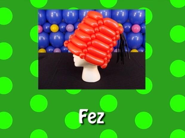 Fez Balloon Hat Recipe by Steven Jones