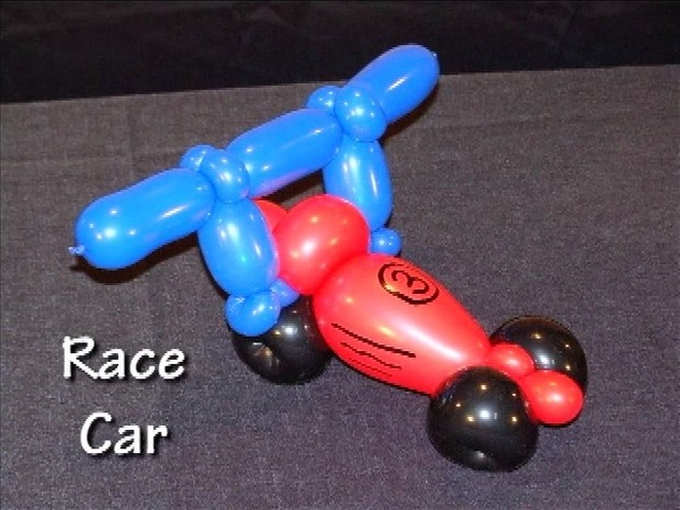 Race Car - Twisted Balloon Design by Tonya McNeill