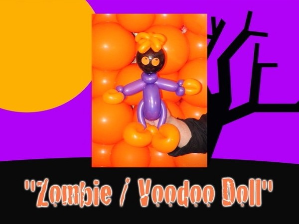 Zombie / Voodoo Doll Balloon Design by Jeff Hayes