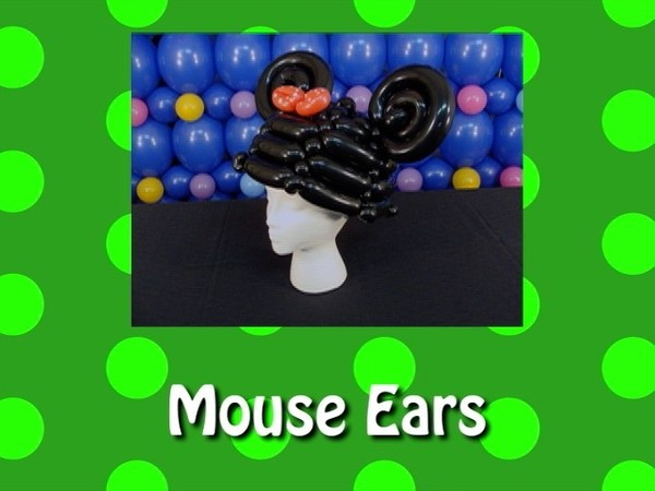 Mouse Ears Balloon Recipe by Steven Jones