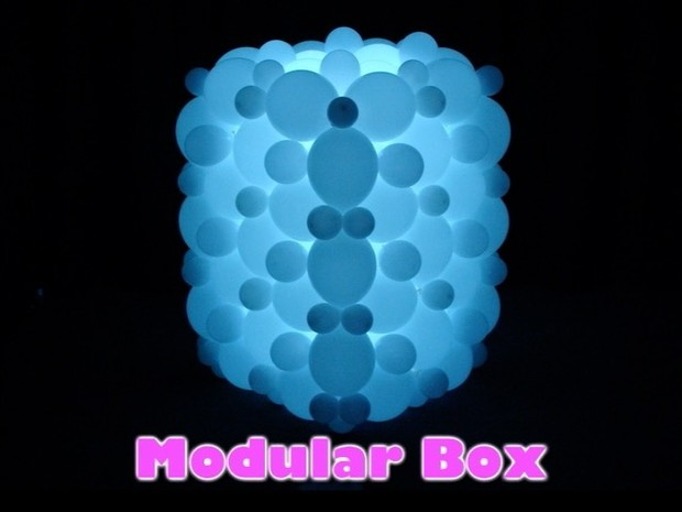Modular Box Balloon Decor Design by Steven Jones