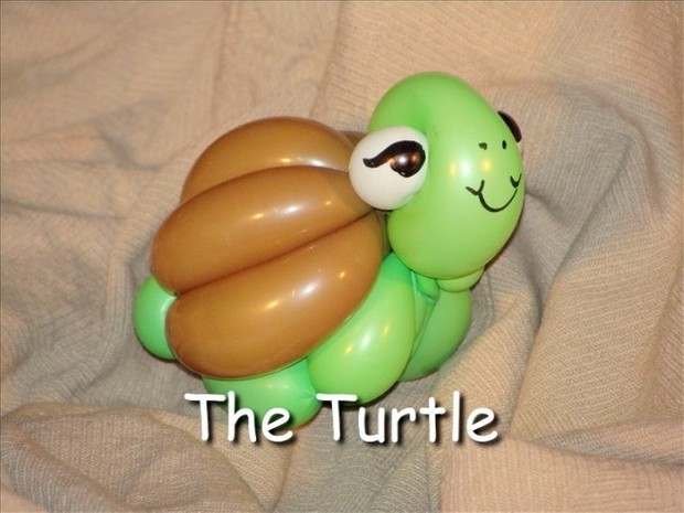 Turtle Balloon Animal Bracelet Design by Vicky Kimble