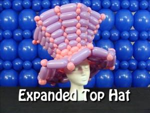 Expanded Top Hat Balloon Hat Recipe by Steven Jones