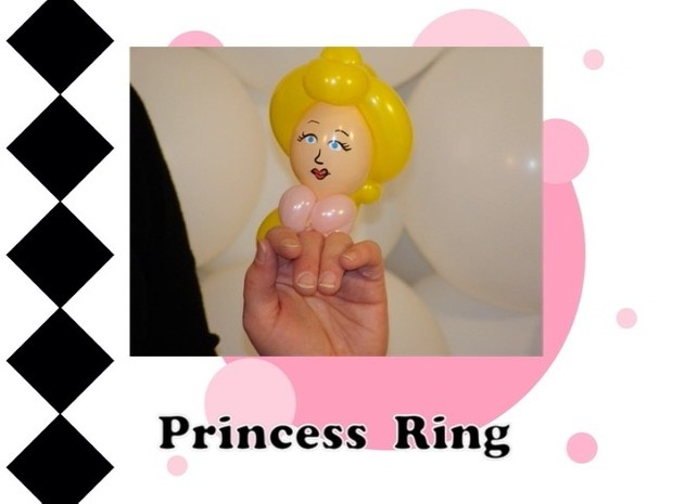 Princess Balloon Ring Design by Melissa Vinson
