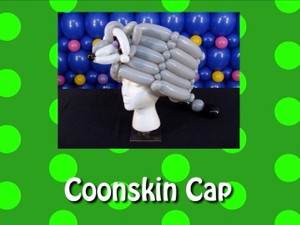 Coonskin Cap Balloon Hat Design by Steven Jones