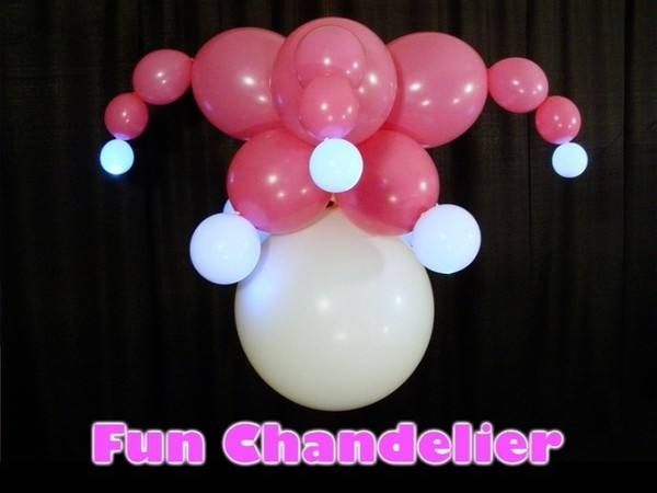 Fun Chandelier Balloon Design by Steven Jones