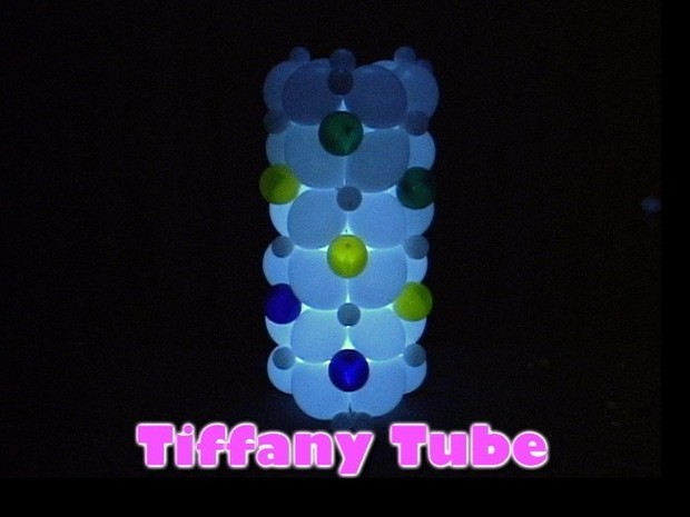 Tiffany Tube Balloon Decor Design by Steven Jones