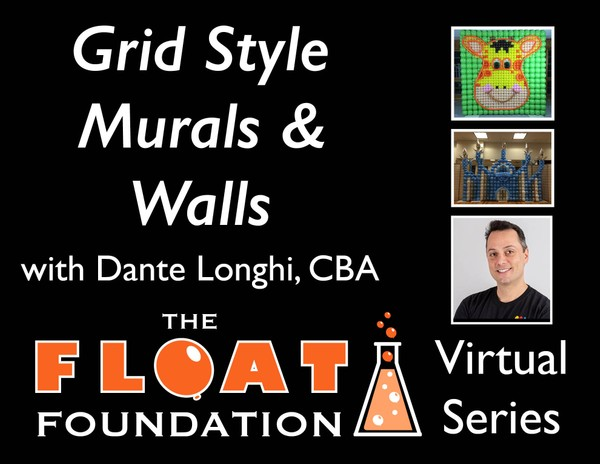 """Grid Style Murals & Walls"" with Dante Longhi, CBA - AVAILABLE FEB 14"