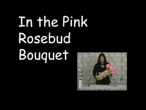 Rosebud Bouquet Balloon Design by Vicky Kimble