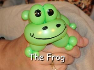 Frog Balloon Animal Bracelet Design by Vicky Kimble