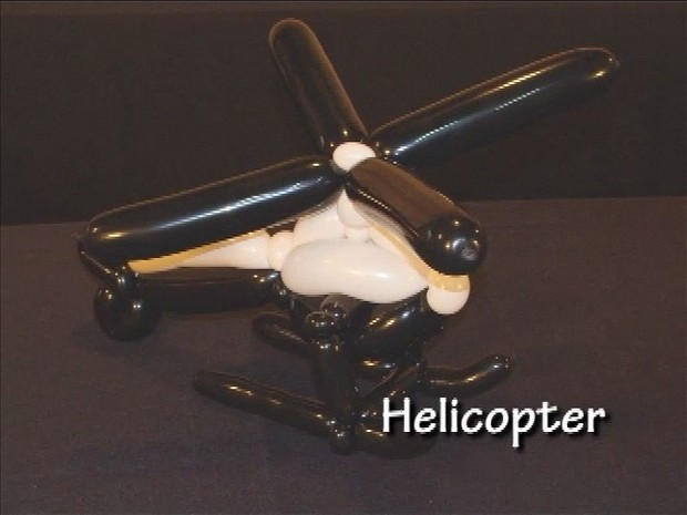 Helicopter - Twisting Balloon Design by Tonya McNeill