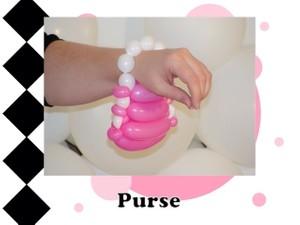 Purse / Pocketbook Balloon Design by Melissa Vinson