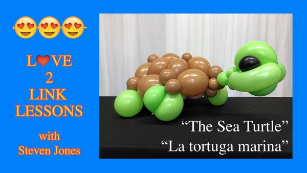Sea Turtle - Balloon Design Recipe by Steven Jones
