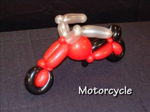 Motorcycle - Twisting Balloon Design by Tonya McNeill