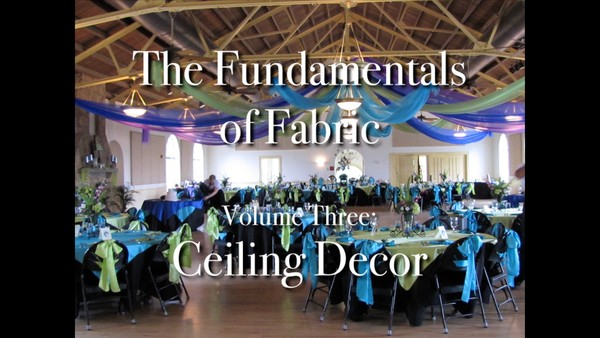 """Fundamentals of Fabric - Ceilings"" with Joette Giardina, CBA - Decor Instructional Video"
