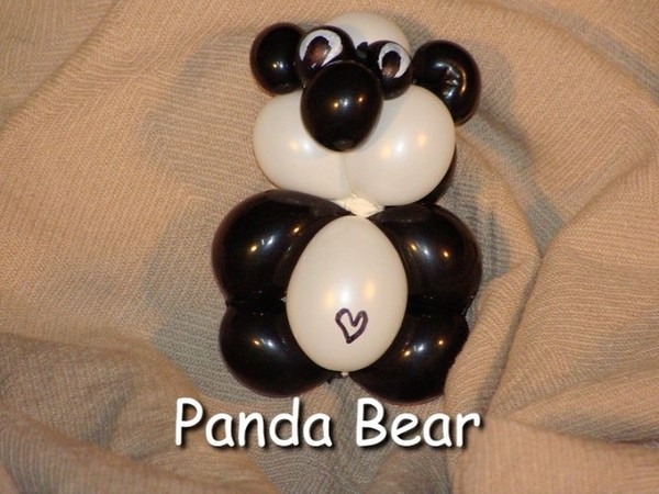 Panda Bear Bracelet Balloon Animal by Vicky Kimble