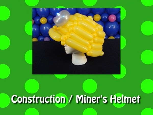 Construction / Miner's Helmet Balloon Recipe by Steven Jones