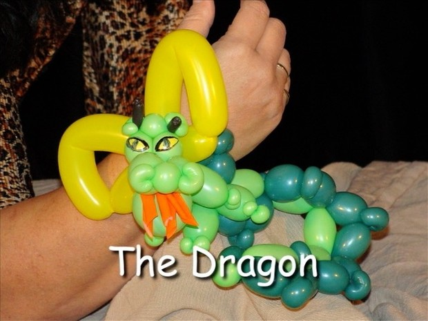 Dragon Balloon Animal Bracelet by Vicky Kimble
