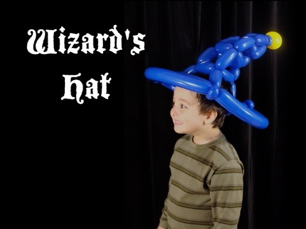 Wizard's Hat Twisting Balloon Recipe by Asi Cohen