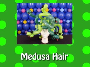 Hair of Medusa Balloon Hat by Steven Jones