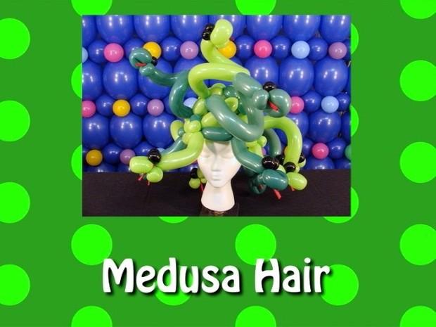 Hair of Medusa Balloon Hat by Steven Jones