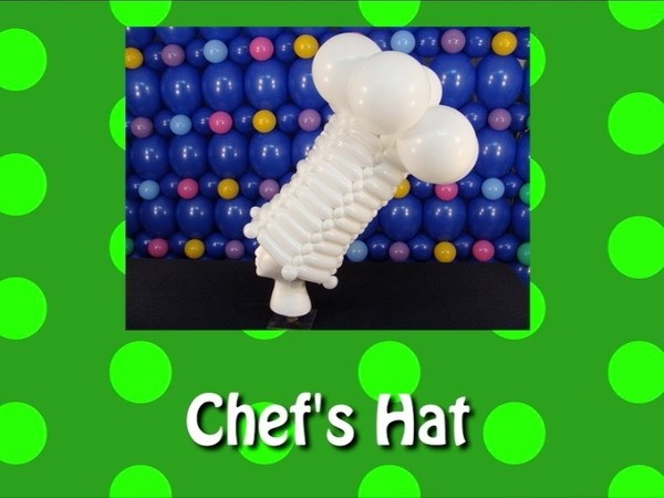 Chef's Hat Balloon Recipe by Steven Jones