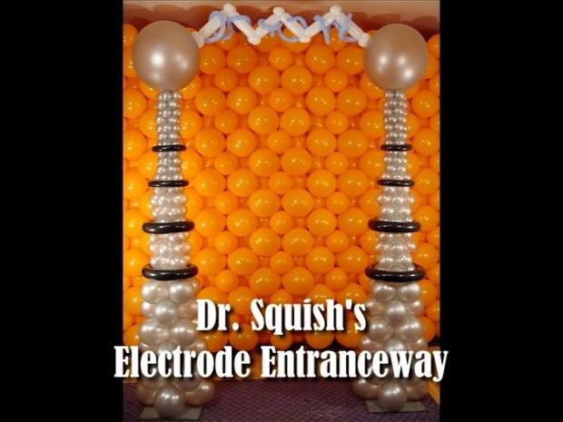 Electrode Entranceway Halloween Balloon Design by Steven Jones