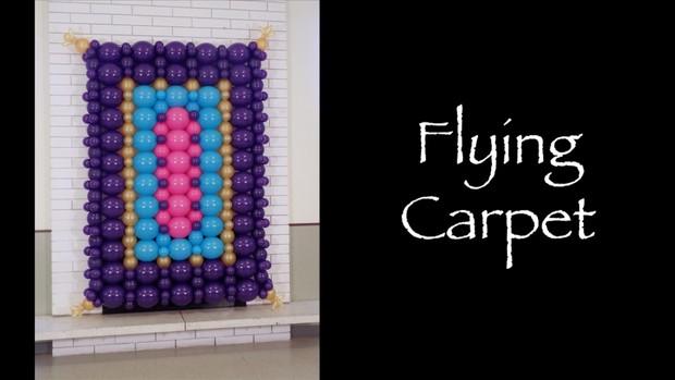Flying Carpet Balloon Decor Recipe by Melissa Vinson
