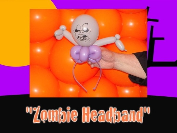 Zombie Headband Balloon Recipe by Jeff Hayes