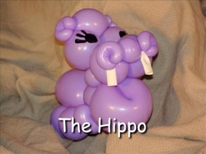 Hippo Balloon Animal Bracelet by Vicky Kimble