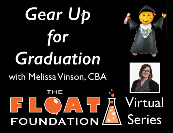"""Gear Up for Graduation"" with Melissa Vinson, CBA"