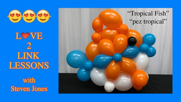 Tropical Fish - Balloon Design Recipe by Steven Jones