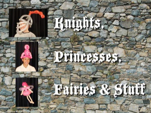 """Knights, Princesses, Fairies and Stuff"" with Asi Cohen - Balloon Twisting Instructional Video"