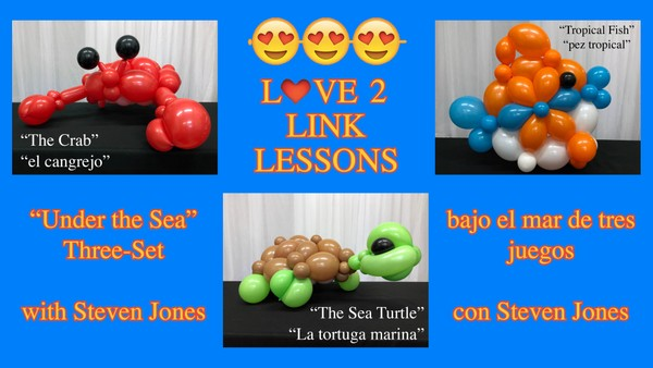 "The ""Under the Sea Three-Set"" - Balloon Recipe Designs by Steven Jones"
