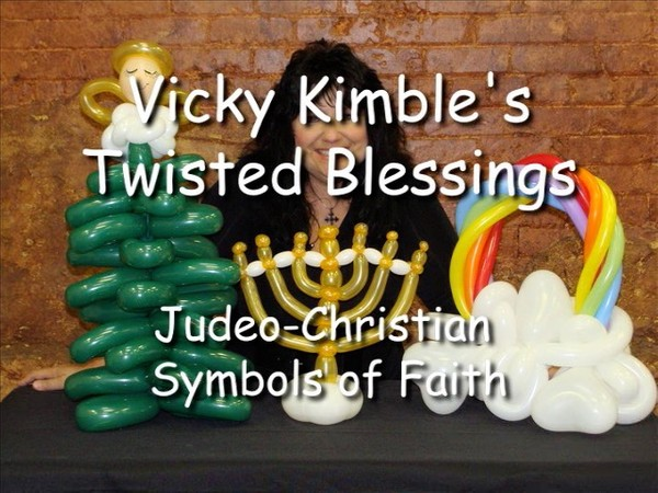 """Twisted Blessings"" with Vicky Kimble, CBA - Balloon Twisting Instructional Video"