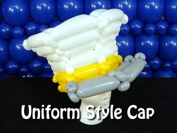 Uniform Style Cap Balloon Hat by Steven Jones