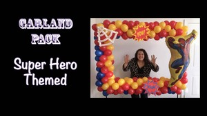 Super Hero Themed Photo Frame by Patty Sorell