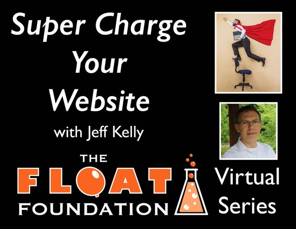"""Super Charge Your Website"" with Jeff Kelly"