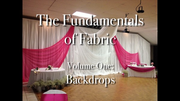 """Fundamentals of Fabric - Backdrops"" with Joette Giardina - Decor Instructional Video"