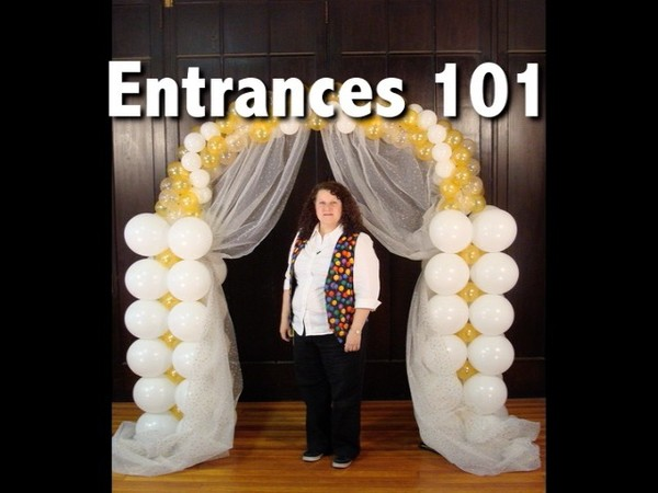 """Entrances 101"" with Patty Sorell, CBA Balloon Arch DVD"